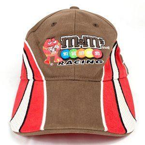 M&M's Racing Nascar Racing Baseball Hat Busch 18